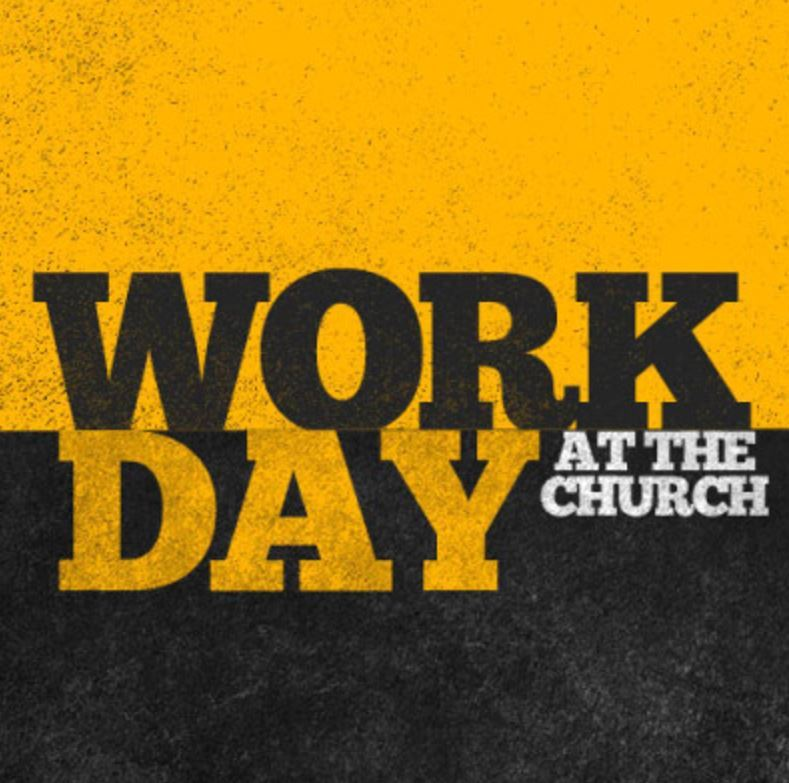 work day at church